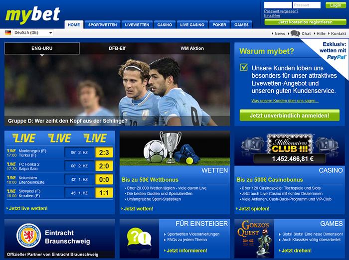 Mybet Com Sportwetten